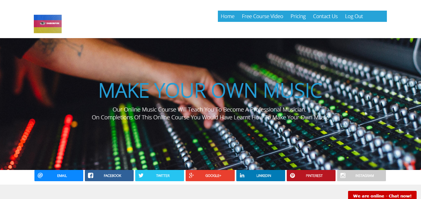Make Your Own Music Online Driverlayer Search Engine